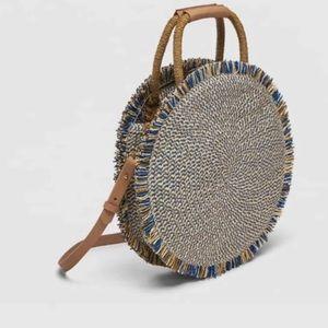 Zara Straw Round Bag